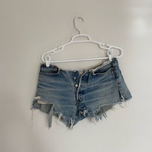 boutique levi vintage shorts